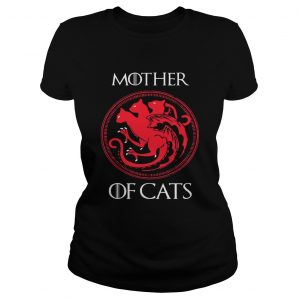 Mother of cats Game Of Thrones ladies tee