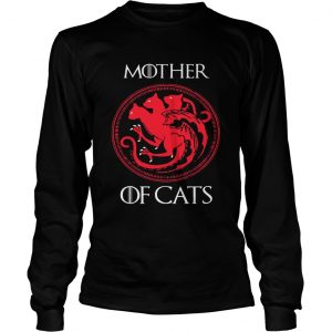 Mother of cats Game Of Thrones longsleeve tee