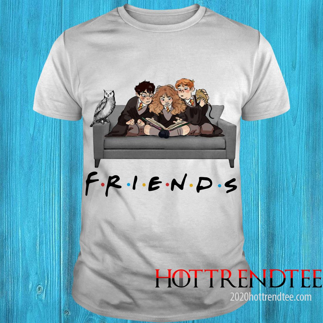 Harry Potter Ron And Hermione Friends Shirt