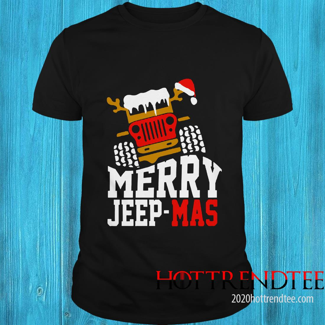 Merry Jeep Mas T-shirt