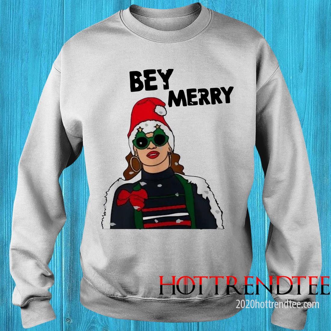 Beyonce Bey Merry Christmas Sweatshirt