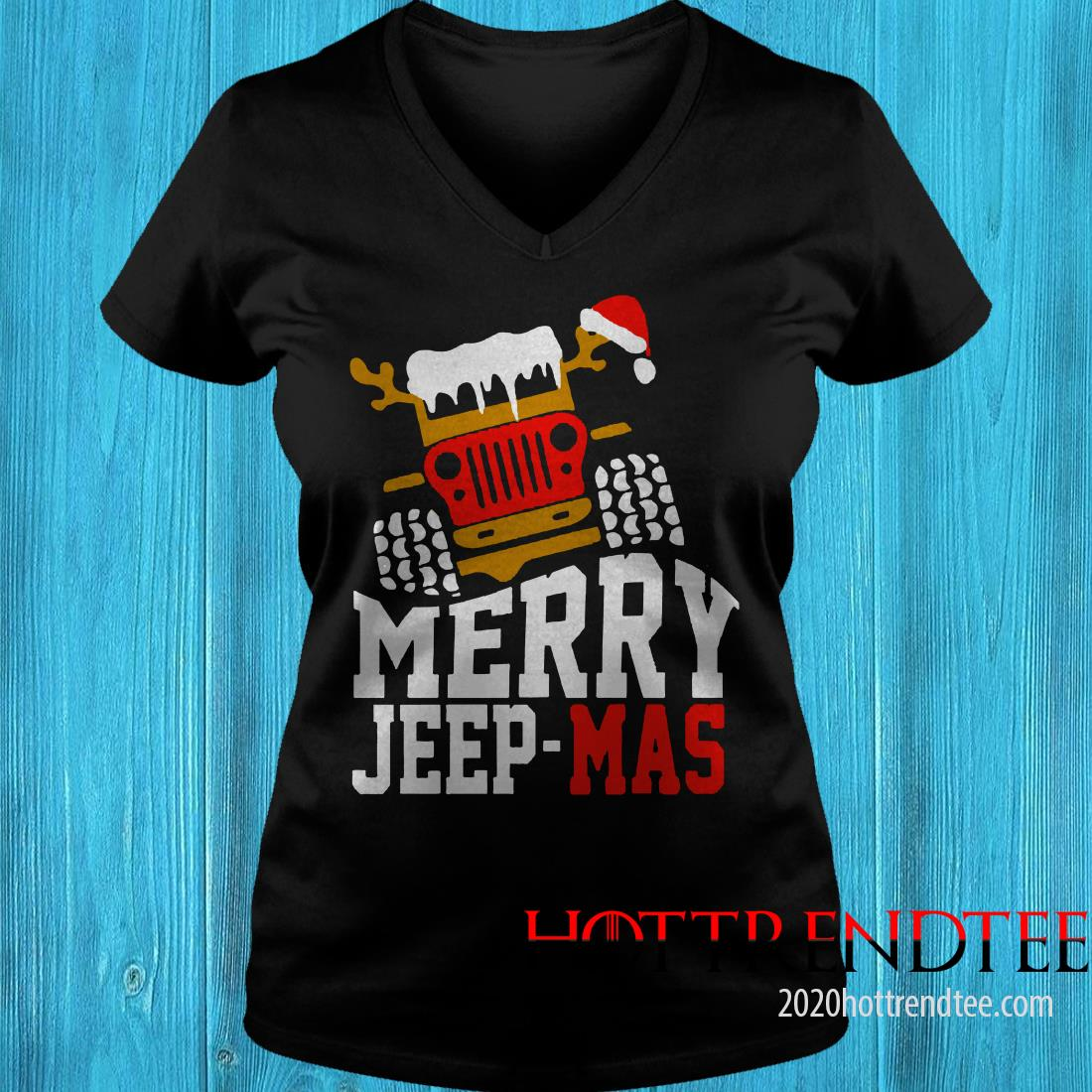 Merry Jeep Mas Women's T-shirt