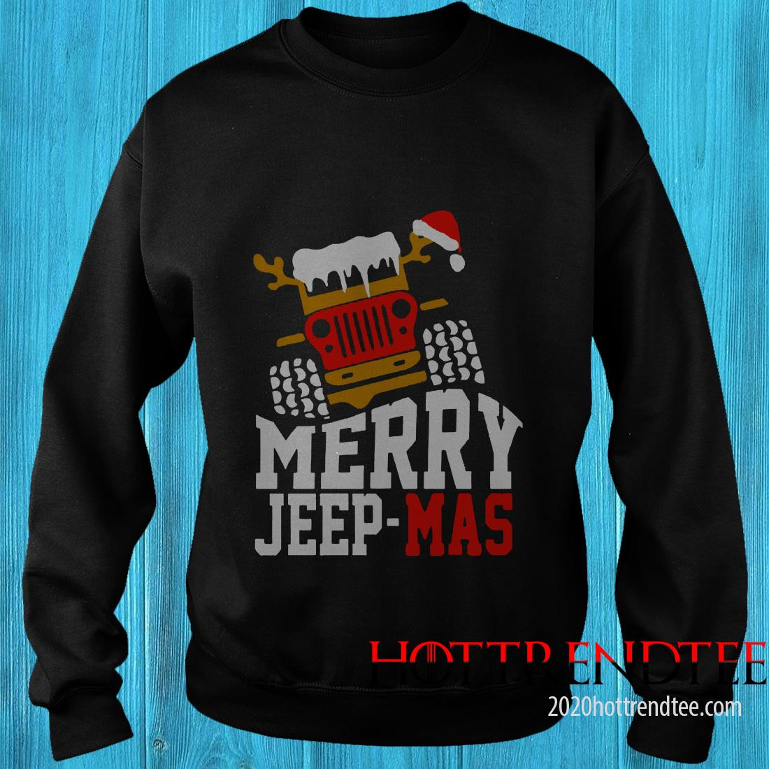 Merry Jeep Mas Sweatshirt