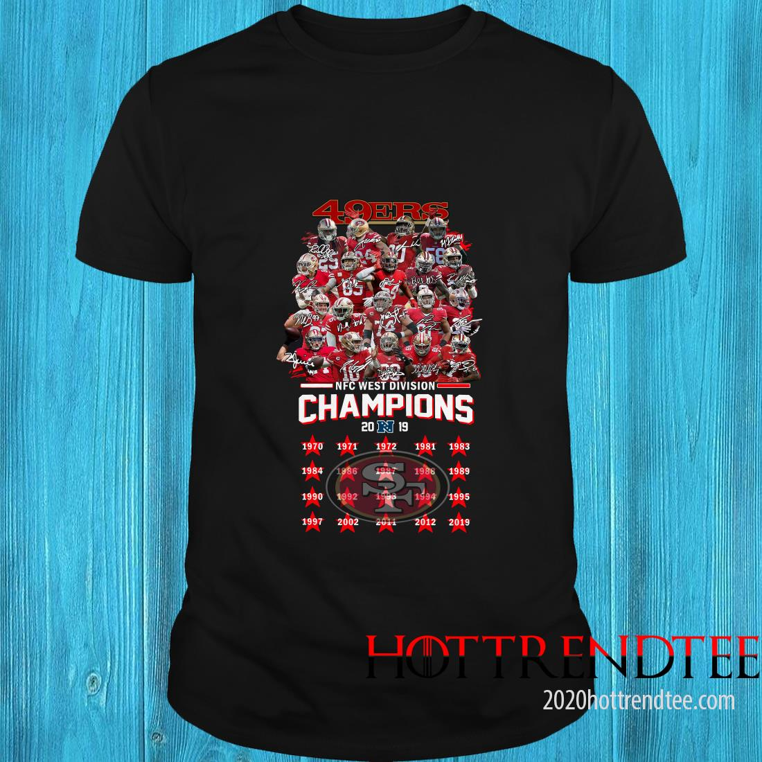 49ers nfc west champions 2020