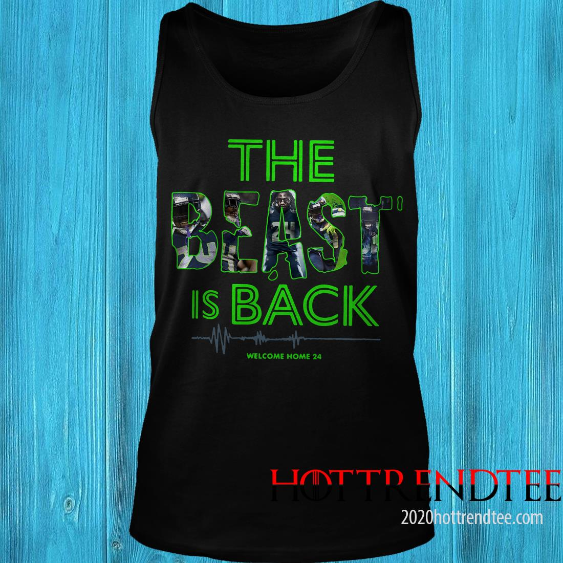 The Beast Is Back Welcome Home 24 Shirt