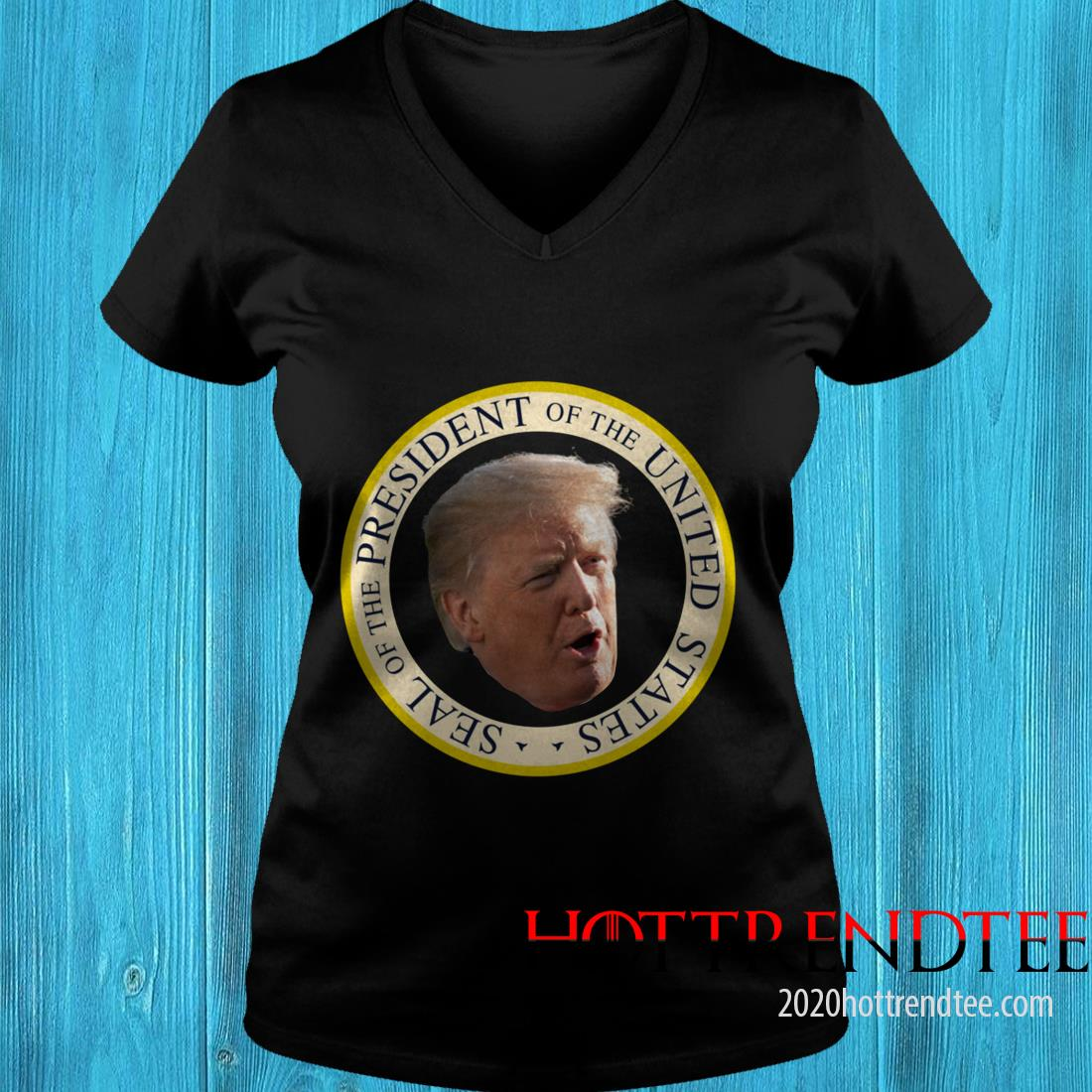 Trump Fake Seal Of The President Of United States Women's T-Shirt