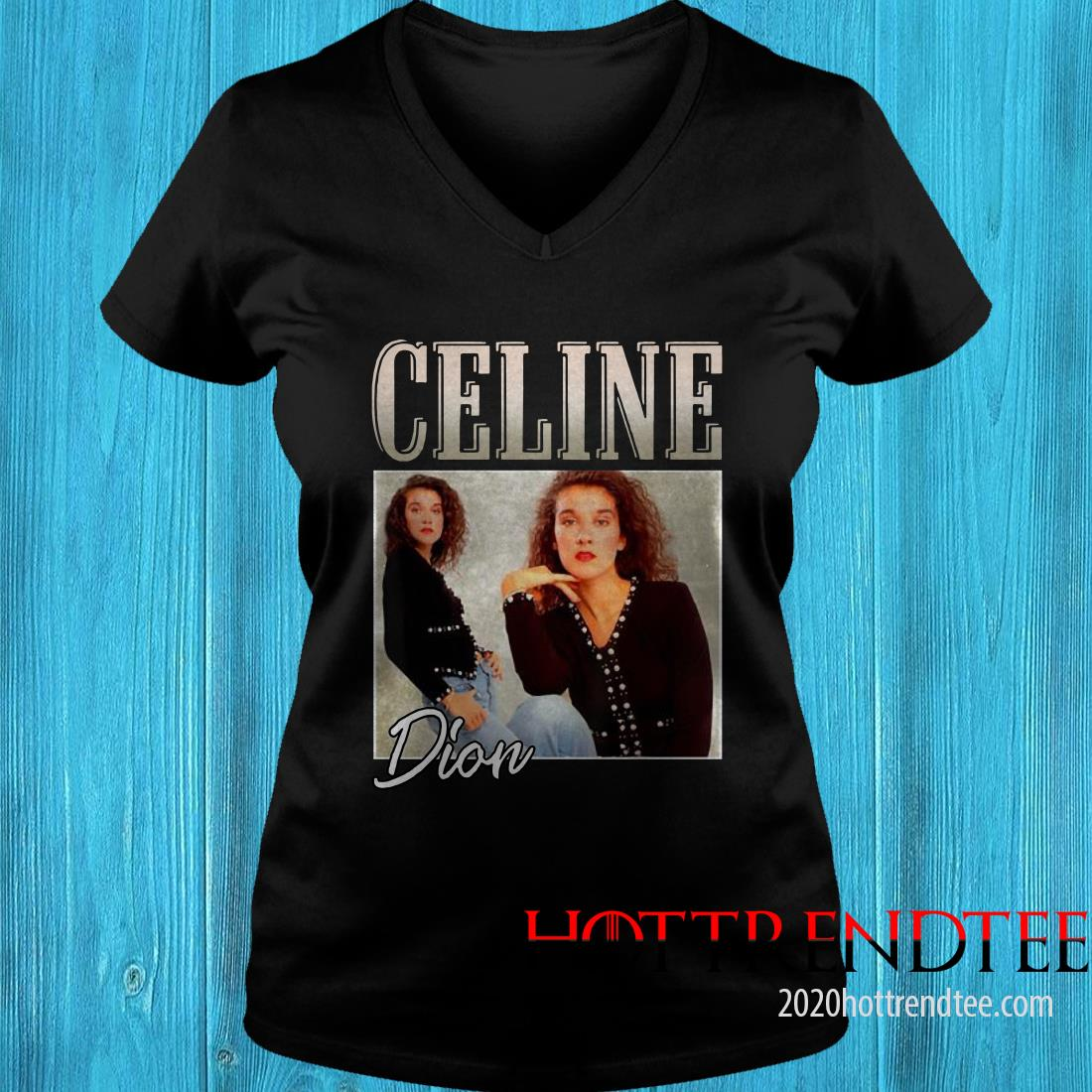 Retro Celine Shirts Dion Legends Live Forever Funny Musician Women's T-Shirt