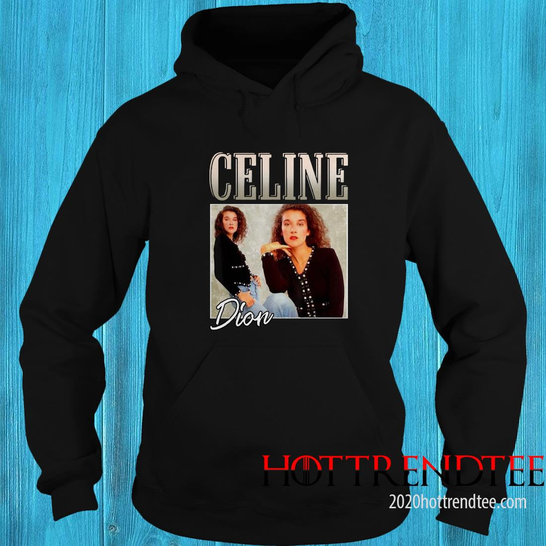 Retro Celine Shirts Dion Legends Live Forever Funny Musician Hoodie