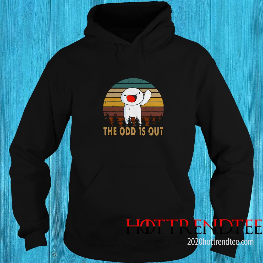 Vintage The Comics Distressed Odd Out Animation Hoodie