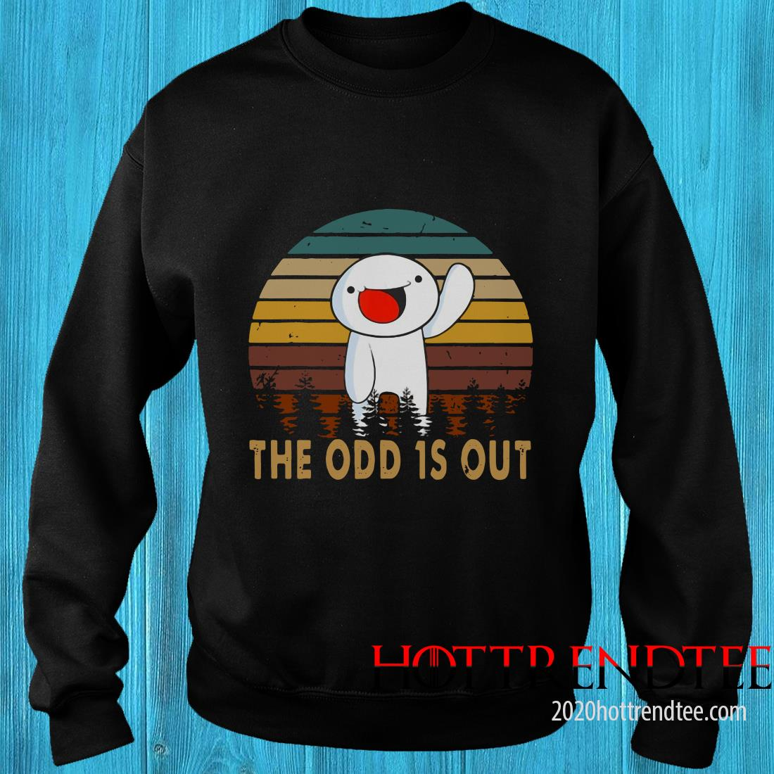 Vintage The Comics Distressed Odd Out Animation Sweatshirt
