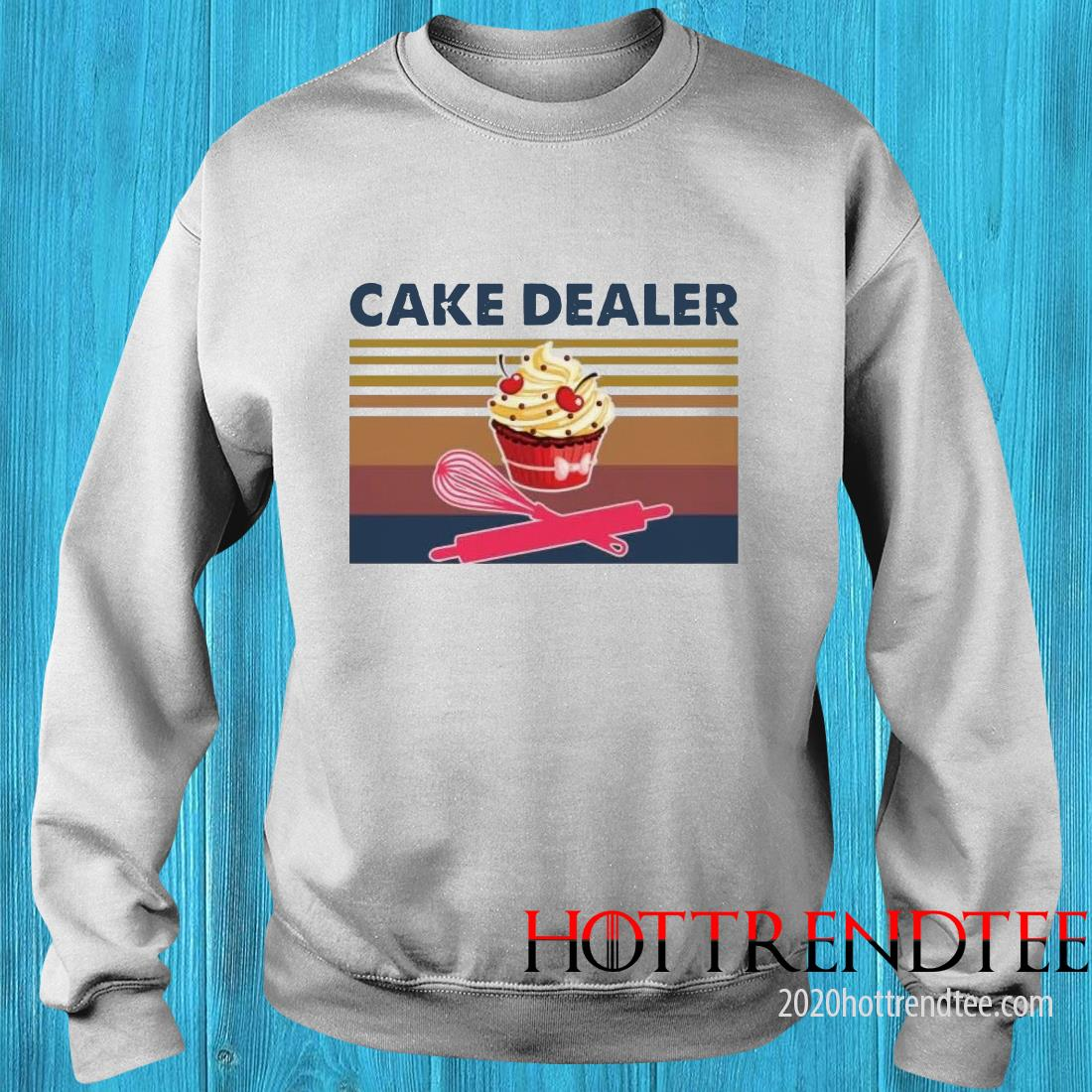 Cake Dealer Vintage Sweatshirt