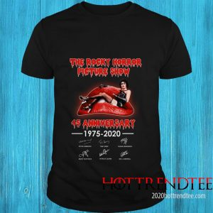 Official The Rocky Horror Picture Show 45th Anniversary Shirt