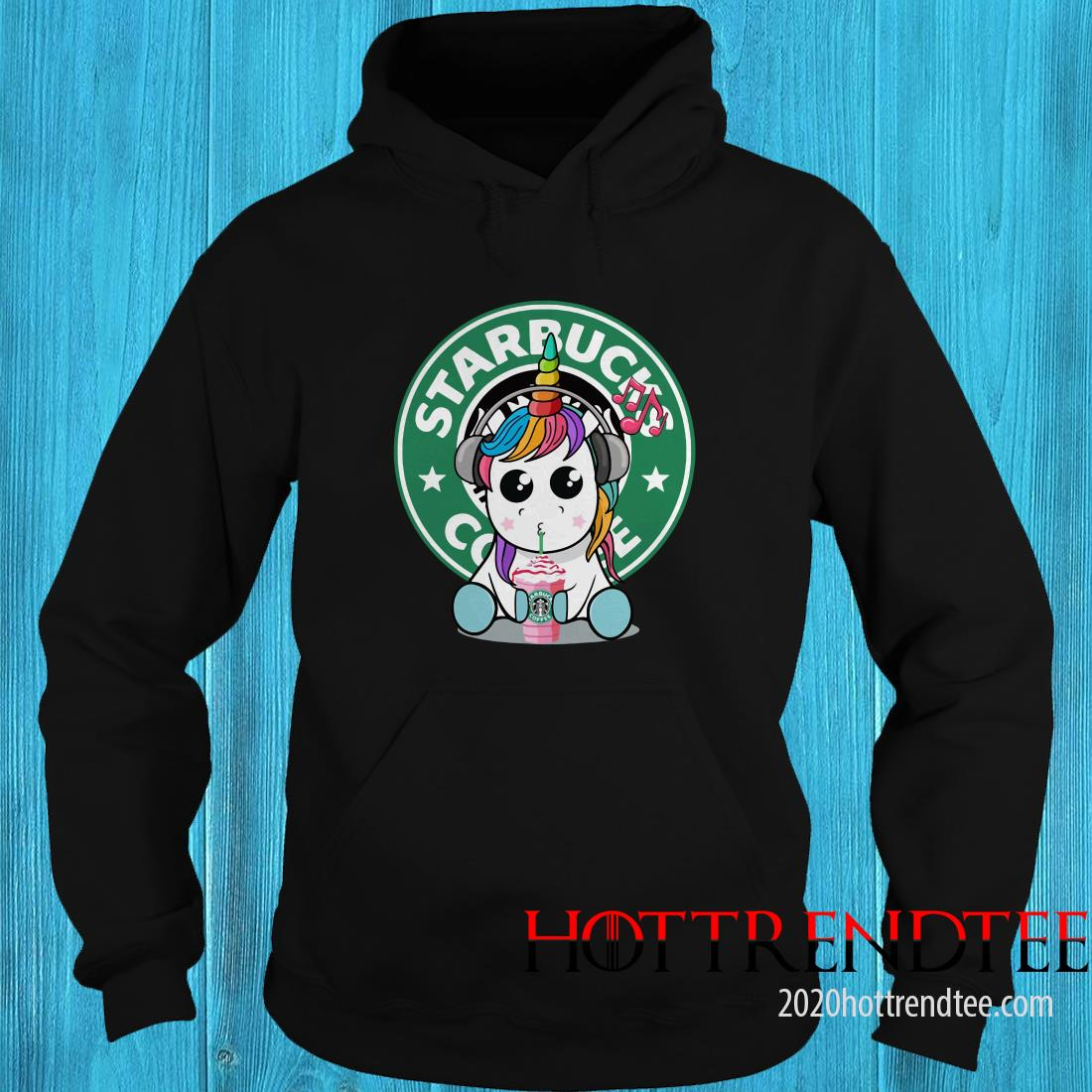 Official Unicorn Drick Starbucks Coffee Hoodie