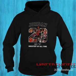 Official Jordan 23 Greatest Of All Time Signed Hoodie