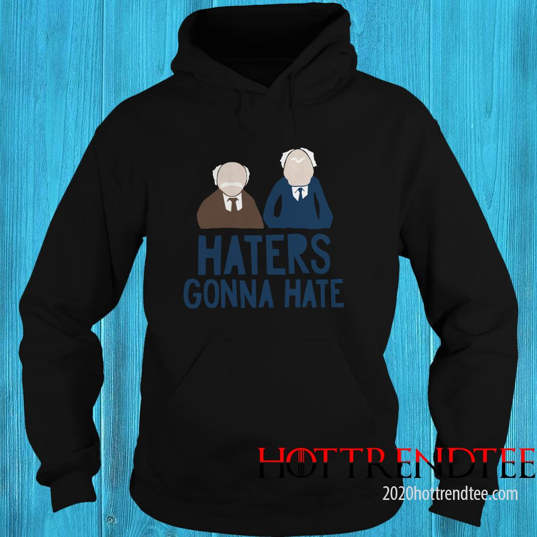 The Muppets Haters Gonna Hate Hoodie