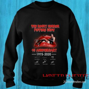 Official The Rocky Horror Picture Show 45th Anniversary Sweatshirt