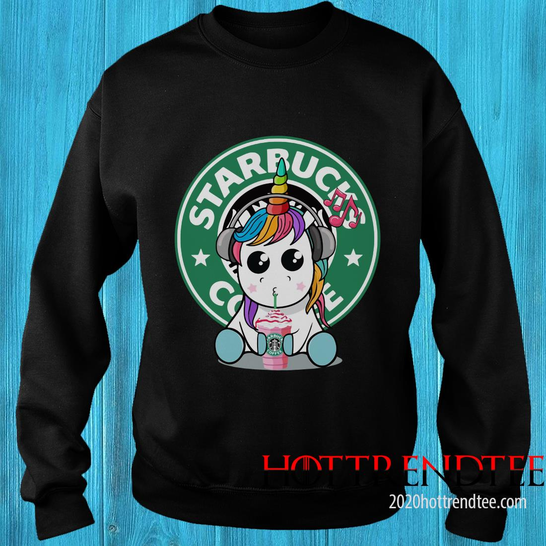 Official Unicorn Drick Starbucks Coffee Sweatshirt