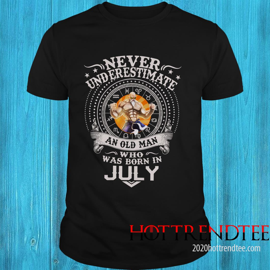 Never Underestimate An Old Man Who Was Born In February – Master Roshi Shirt