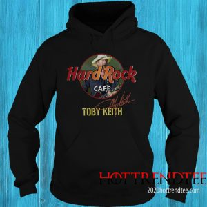 Official Toby Keith Hard Rock Cafe Signature Hoodie