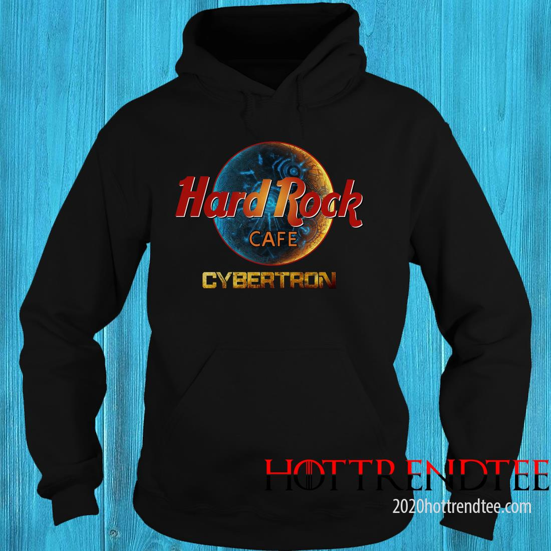 Official Transformers Hard Rock Cafe Cybertron Hoodie