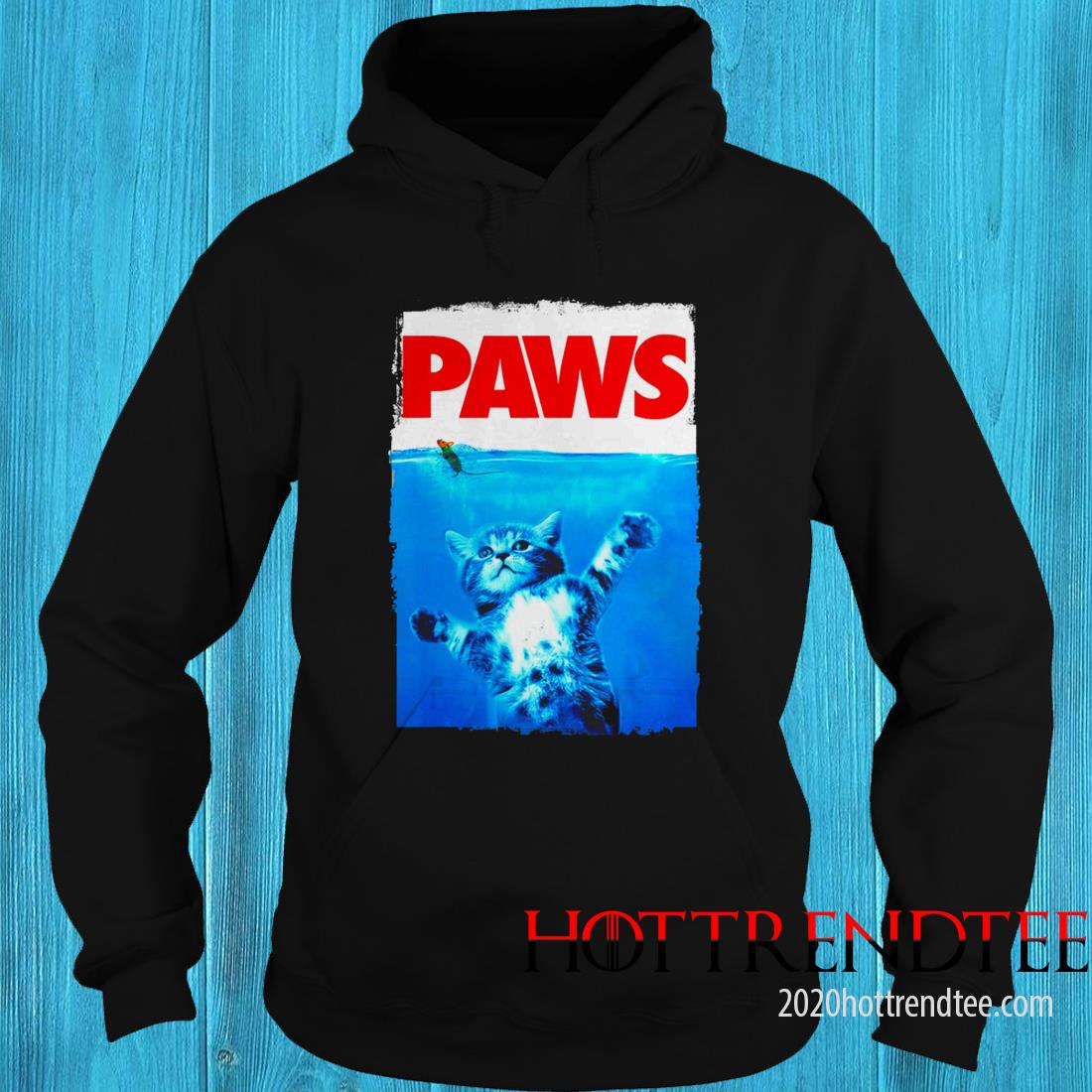 Paws Cat Kitten Meow Paws Hoodie