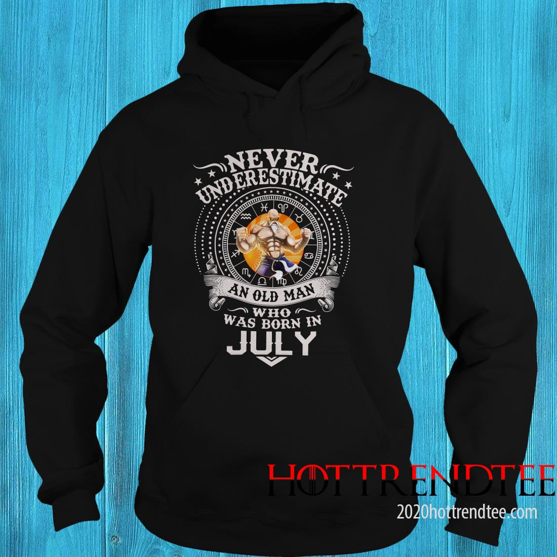 Never Underestimate An Old Man Who Was Born In February – Master Roshi Hoodie