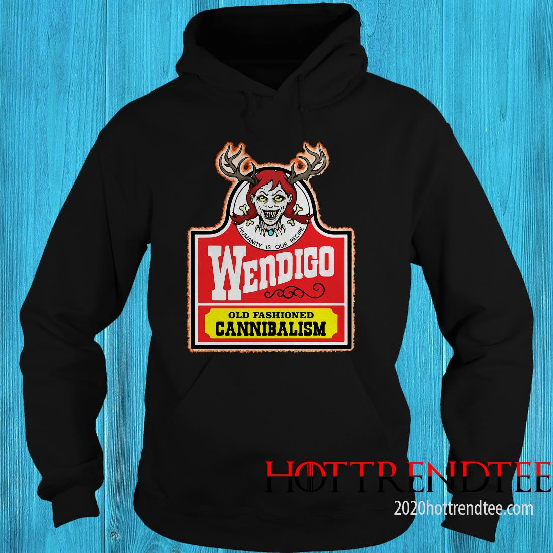 Official Wendigo Old Fashioned Cannibalism Hoodie