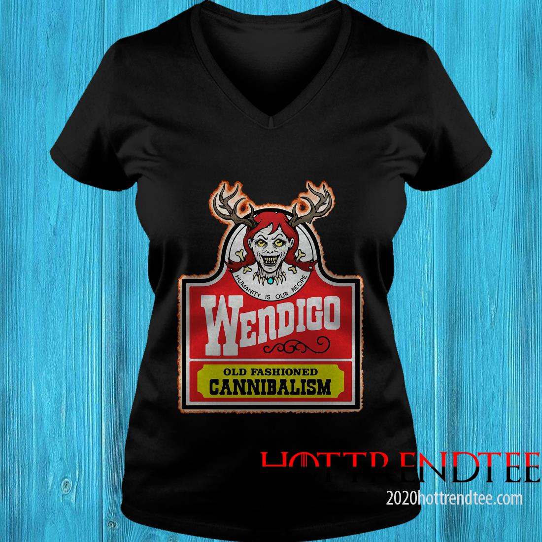 Official Wendigo Old Fashioned Cannibalism Women's T-Shirt