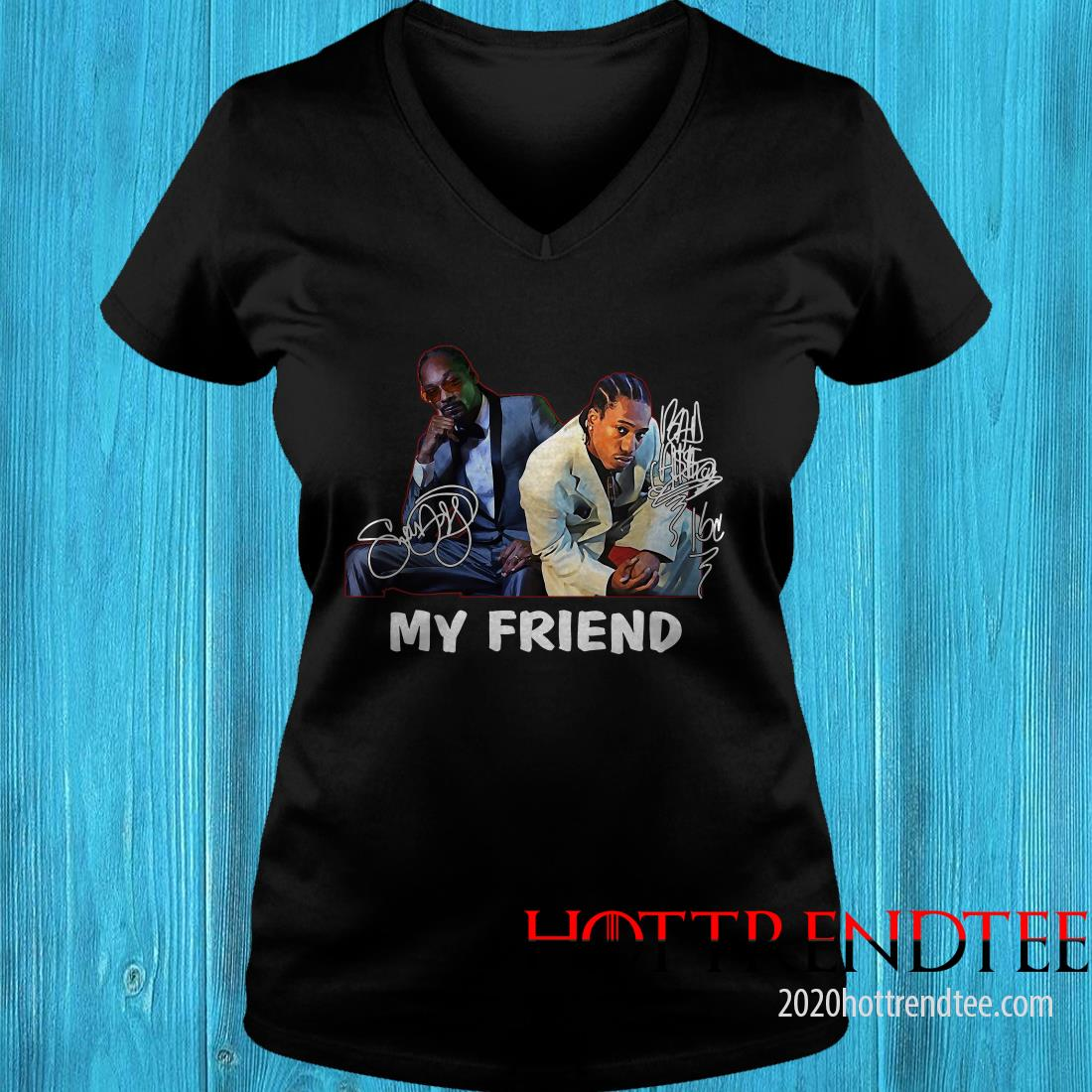 Official Snoop Dogg And Bad Azz My Friend Signature Women's T-Shirt