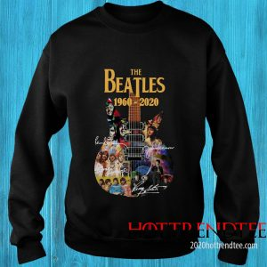 Official The Beatles 1960-2020 Guitar Sweatshirt