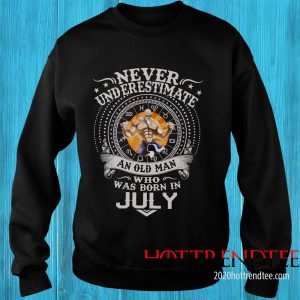 Never Underestimate An Old Man Who Was Born In February – Master Roshi Sweatshirt