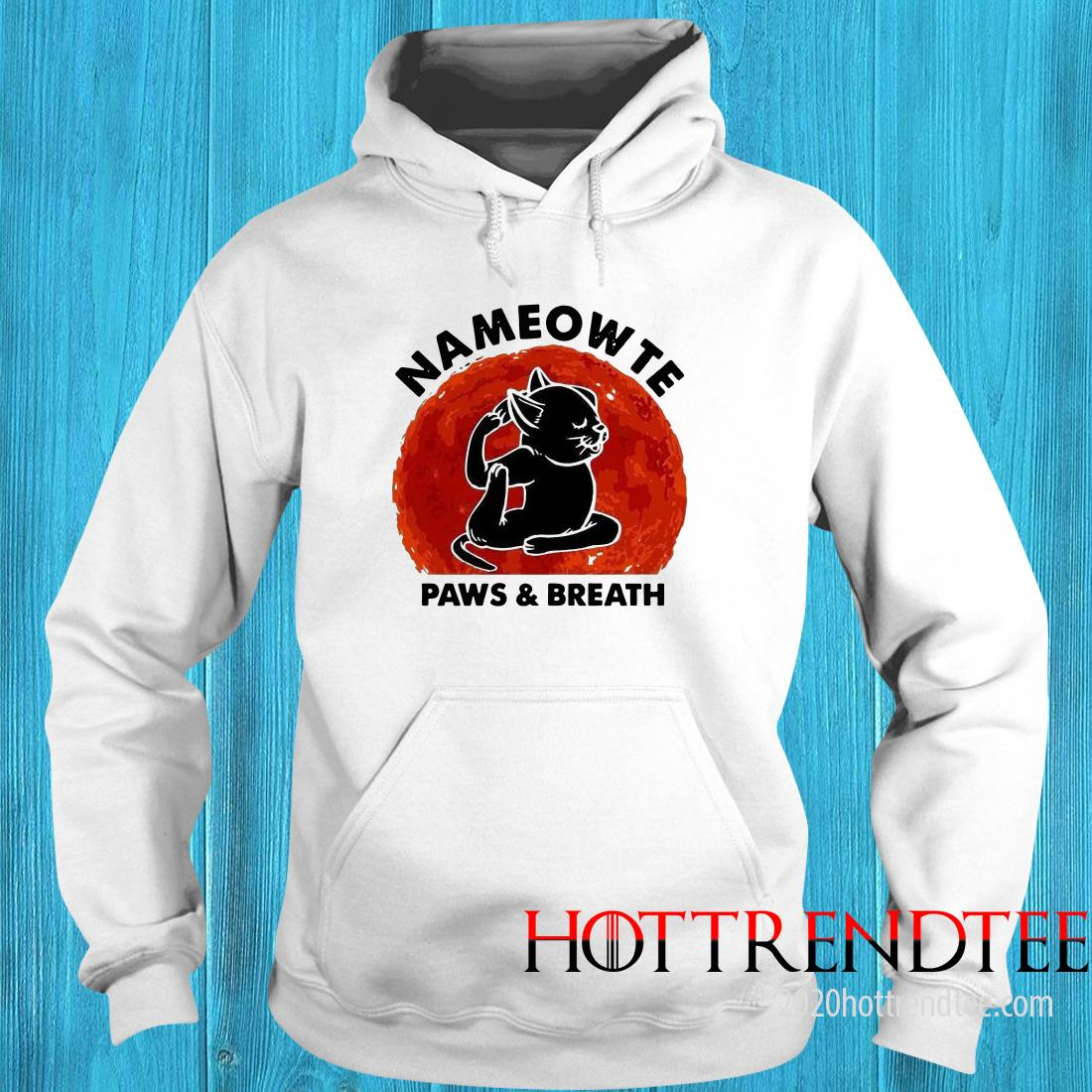 Official Nameowte Paws Breath Hoodie