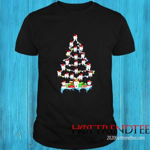 Dentist Dental Hygienist Teeths Christmas Tree Shirt