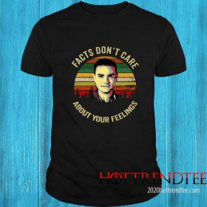 Facts Dont Care About Your Feelings Ben Shapiro Vintage Shirt