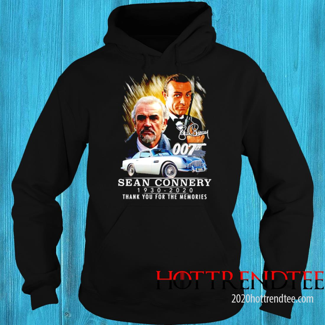 007 Sean Connery 1930 2020 Thank You For The Memories Signature Shirt 3