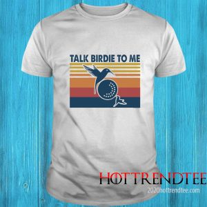 Bee Hummingbird Talk Birdie To Me Vintage Shirt