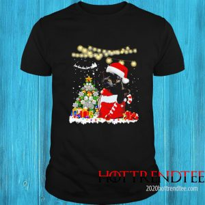 Cat And Merry Christmas Paws Tree Gift Sweater