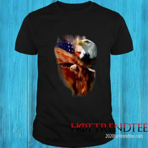 Eagle American Wings Happy 4th Of July Shirt
