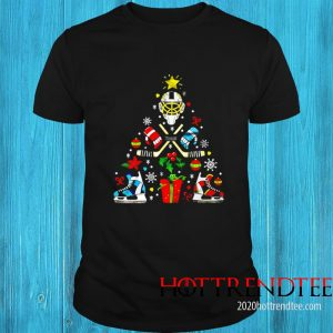 Hockey Christmas Tree Shirt