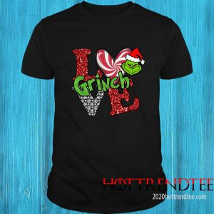 Merry Christmas Grinch Santa Love Shirt