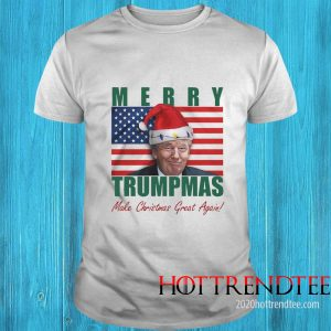 Merry Trumpmas Make Christmas Great Again Shirt