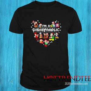 Mouse Mickey I'm A Disney Aholic Shirt