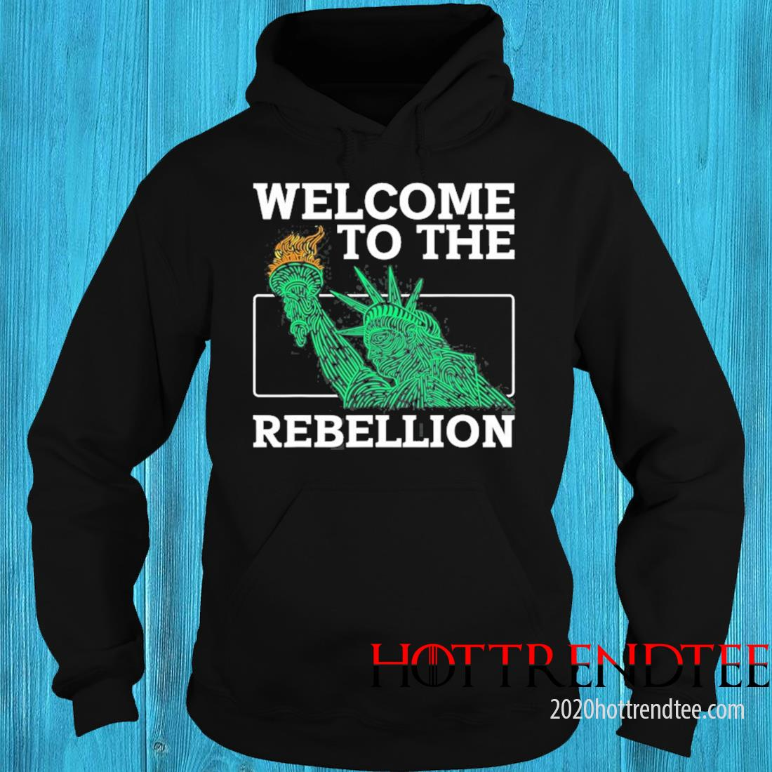 Welcome To The Rebellion Convervative Anti Cancel Cultre Shirt hoodie