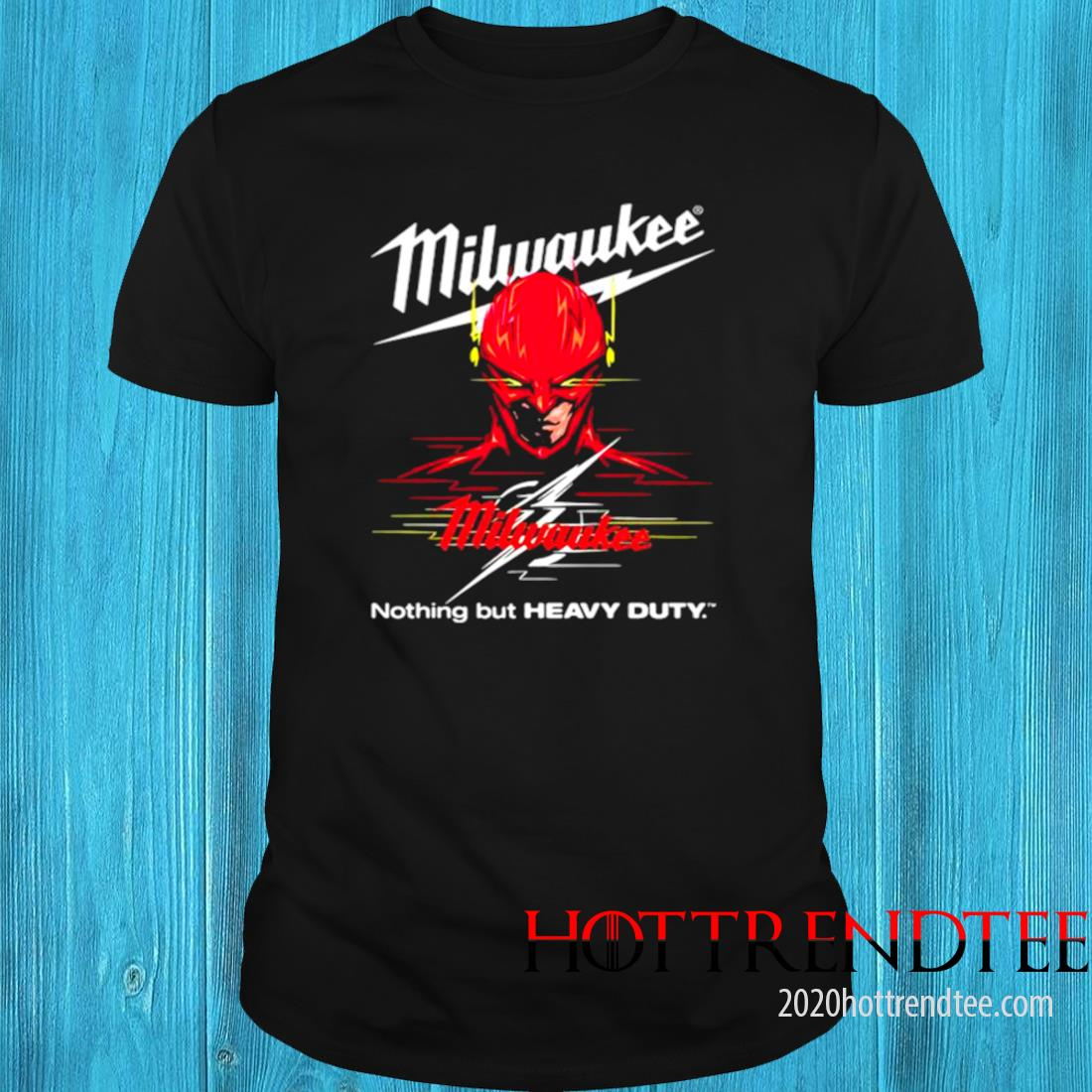 Milwaukee Nothing But Heavy Deadpool Shirt