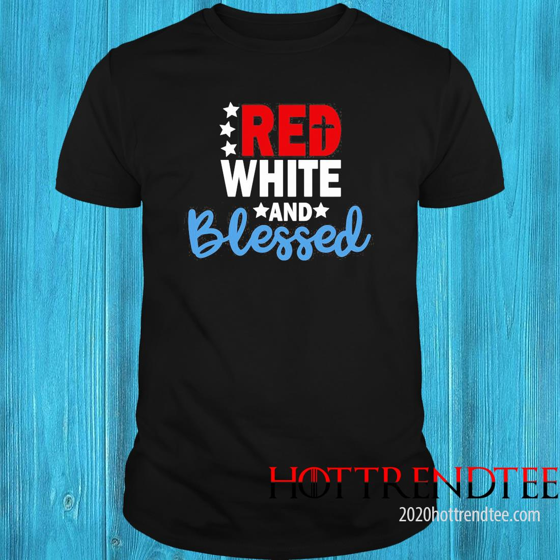 Red White And Blessed American Shirt