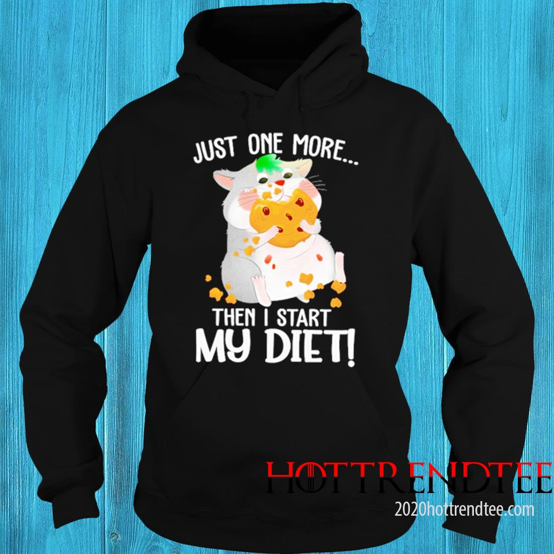 Just One More Then I Start My Diet Mouse Shirt hoodie